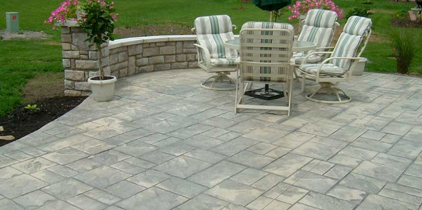 Stamped Concrete | ProLawn U0026 Landscaping