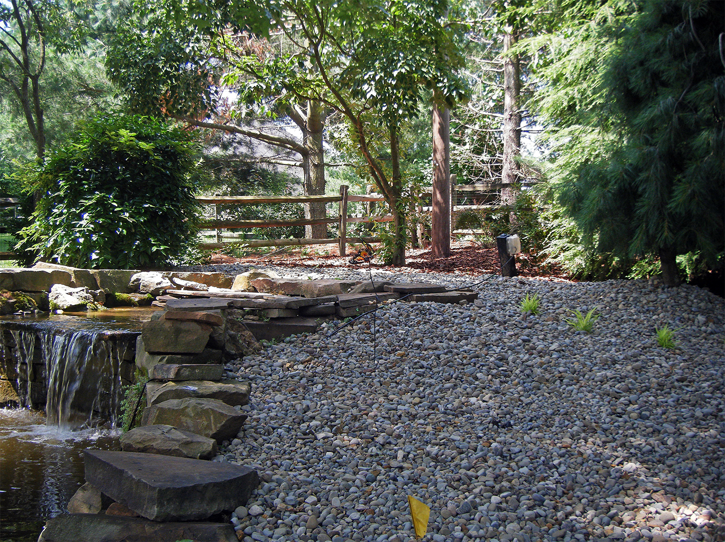Waterscapes transform your landscape prolawn for Landscaping rocks harrisburg pa
