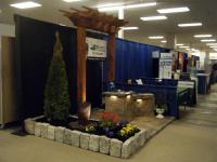 ProLawn Landscaping display at expo event, Harrisburg and Chambersburg, PA